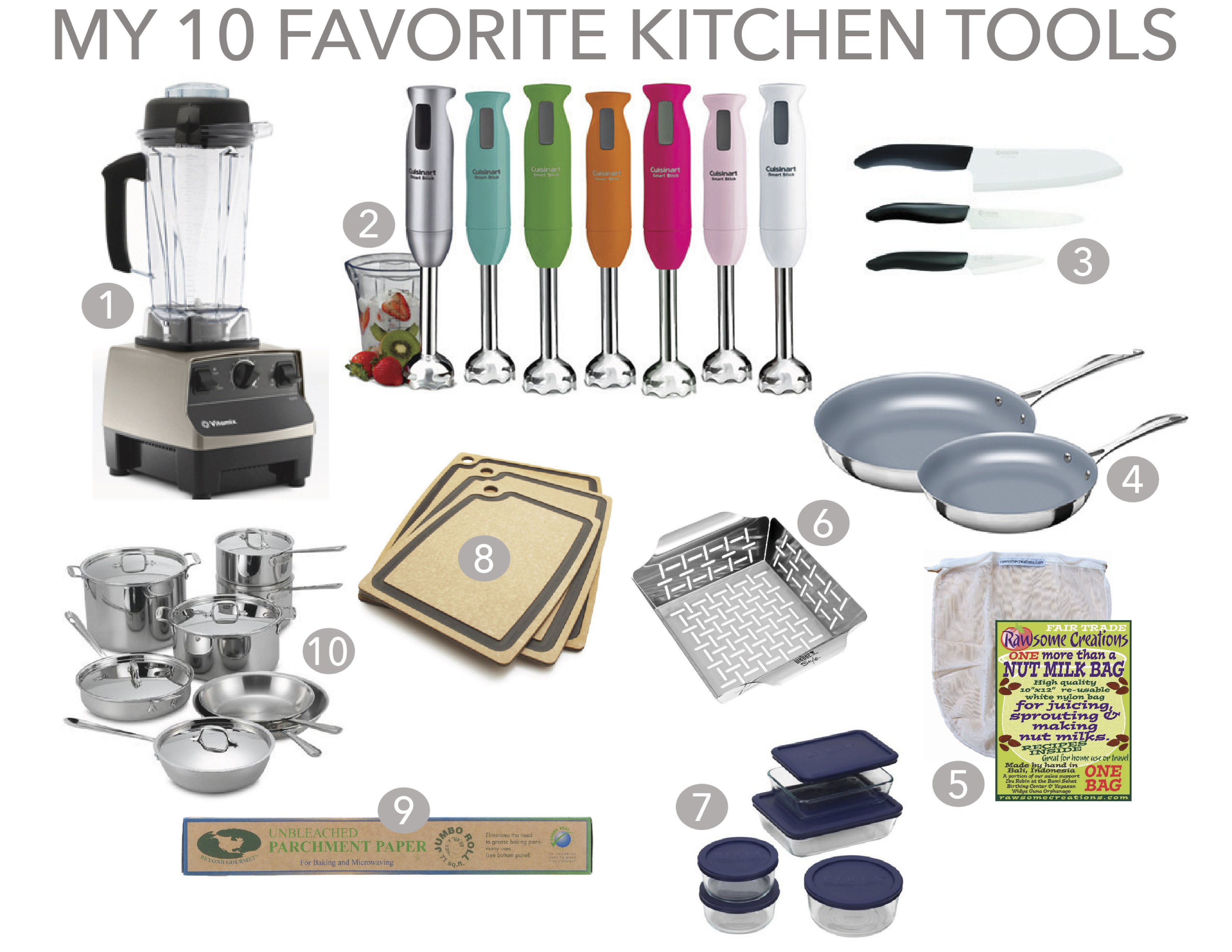 10 favorite kitchen tools green gourmet girl