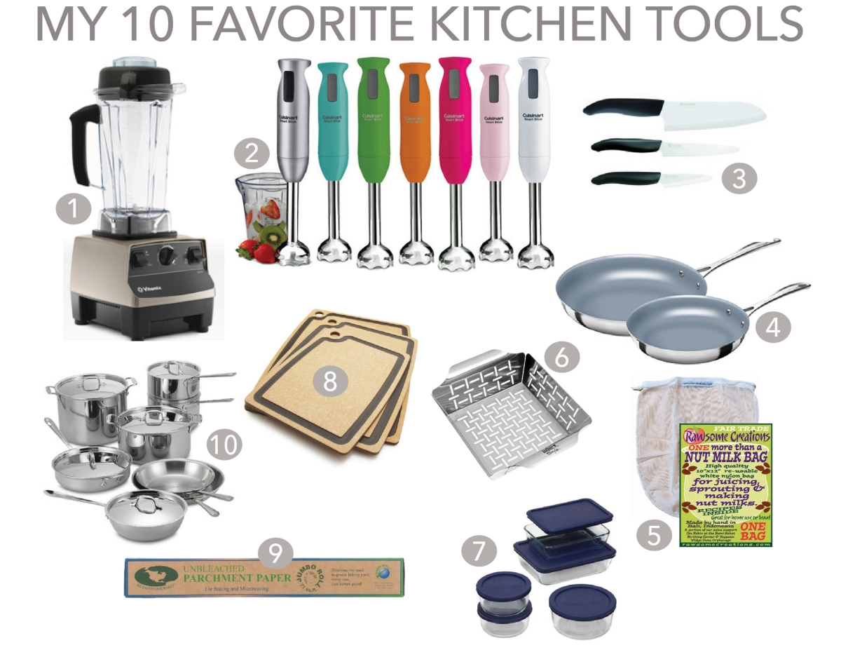 10 FAVORITE KITCHEN TOOLS