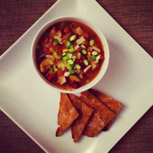 Veggie Chili Serving