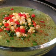 Zucchini & Greens Soup