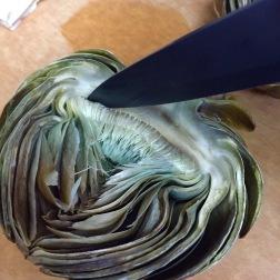 Artichoke Trimming